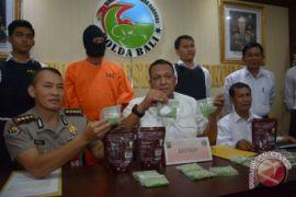 Pengedar narkoba lintas pulau