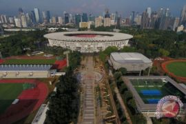 Penyelesaian venue Asian Games
