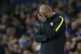 Pep Guardiola keluhkan keputusan wasit usai City tersingkir