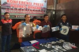 Polres Bangka tembak dua pelaku pembunuhan terhadap pemilik tambang