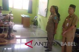 UNBK 208 siswa SMP 5 Sungailiat tertunda