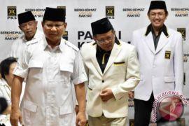 Gerindra susun rancangan kabinet bersama PKS dan PAN