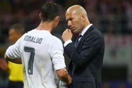 Zidane: cedera Ronaldo merupakan hal kecil