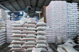 Persediaan beras di Bangka Selatan 79,15 ton