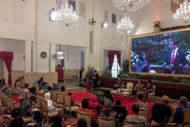 Presiden Jokowi terima ratusan penerima manfaat JK-KIS