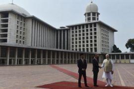 PM India kunjungi Masjid Istiqlal