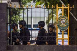 Pengamanan sidang kasus terorisme