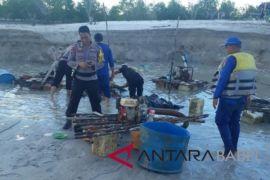 Polres Bangka tertibkan tambang merusak aliran sungai