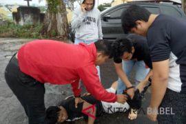 Polres Pangkalpinang ringkus mantan polisi pengedar sabu