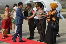Presiden kunjungan kerja ke Sumatera Barat