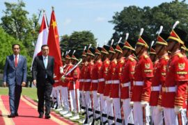 Presiden terima kunjungan PM Cina