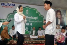 Rini Soemarno meresmikan Masjid Agung sinergi BUMN