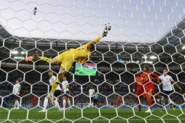Tekuk Inggris 1-0, Belgia puncaki grup dengan poin sempurna