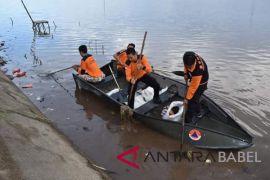 BPBD Pangkalpinang bersihkan kolong retensi antispasi banjir