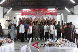 Polres Bangka Selatan gelar halal bihalal bersama Forkominda