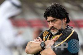 Maradona ditunjuk sebagai pelatih klub meksiko Dorados