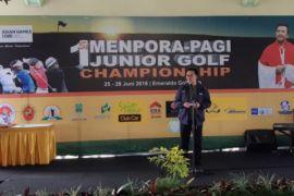 Menpora dorong kejuaraan golf junior berkala