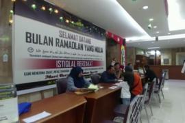 Masjid Istiqlal terima Rp200 juta zakat fitrah