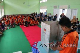 KPU ingatkan narapidana pentingnya sukseskan Pilkada Bangka