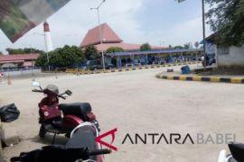 Pelabuhan Tanjungkalian Muntok terpantau sepi penumpang