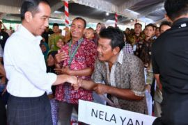 Pesan Jokowi kepada nelayan budidaya Indramayu