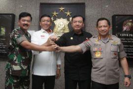 Kapolri: TNI-Polri solid perkuat eksistensi Indonesia