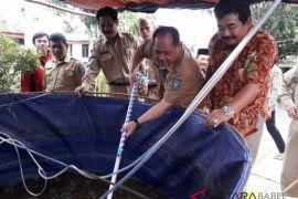 Bangka Tengah bangun kolam bioflok percontohan