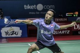 Anthony Ginting Menang