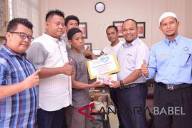 PT Timah Bantu Nelayan Korban Lakalantas