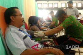 510 karyawan PT Timah donor darah bantu PMI