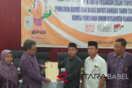 KPU Bangka tetapkan pemenang pilkada 2018
