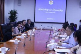 Lokakarya mikroblog Asean-China