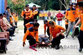 Bangka Barat latih keterampilan relawan bencana