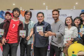 Peluncuran Album Asian Games 2018