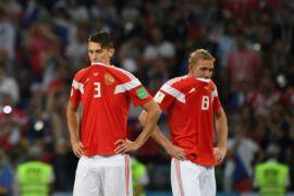 Puluhan ribu warga Rusia tetap antusias sambut pencapaian timnya