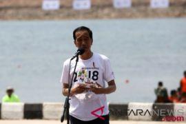 Presiden tanggapi gunjingan adegan motor pembukaan Asian Games