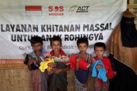 ACT gelar khitan massal buat anak-anak Rohingya di Bangladesh