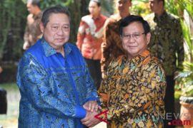 Prabowo sambangi rumah SBY selama 40 menit