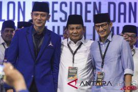 Relawan AHY dukung Prabowo-Sandiaga dengan catatan