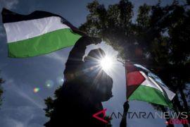 Aksi tolak kekerasan Palestina