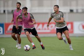 Ronaldo cetak gol perdana di Juventus