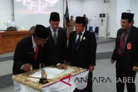 DPRD Bangka gelar rapat paripurna penetapan bupati terpilih