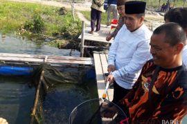Bupati Bangka Tengah apresiasi usaha keramba apung warga
