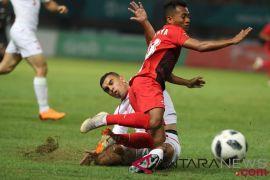 Timnas U-23 Indonesia ditaklukkan Palestina 1-2