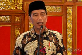 Presiden Jokowi: belum ada rencana pertemuan ketua parpol