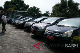Pemprov Babel lelang 101 kendaraan dinas