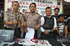 Polisi Pangkalpinang ringkus pelaku pencurian dengan pemberatan