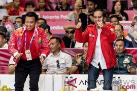 Presiden Jokowi berencana saksikan final bulutangkis beregu Asian Games 2018