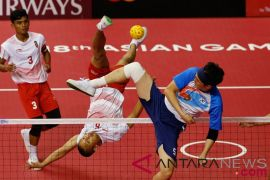 Semi Final Sepak Takraw Regu Putra