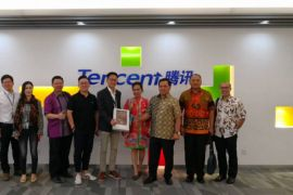 Tencent perluas kerja sama dengan perusahaan Indonesia